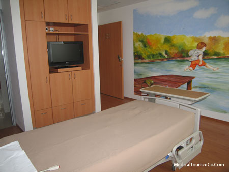 Private Suite in Clinica Biblica