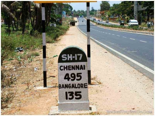 Road to Chennai - India