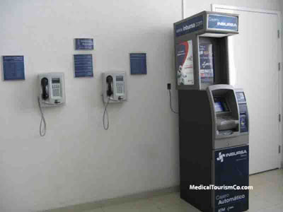 ATM and Pay Phone at Hospital