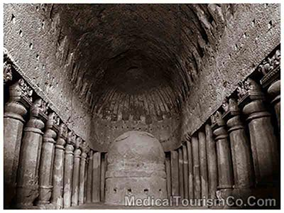 Kanheri Caves in India