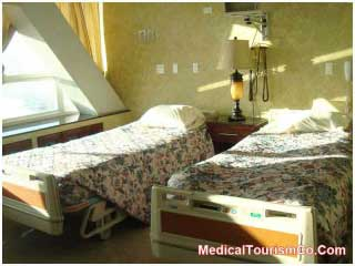 Patient Room in Tijuana Hospital