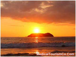 Sunset in Manuel Antonio National Park - Costa Rica