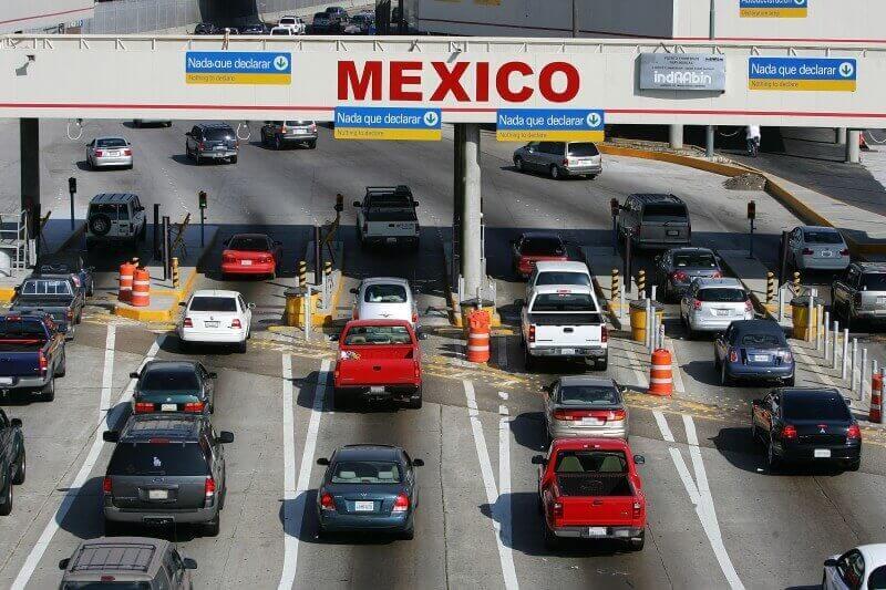 Tijuana border entry