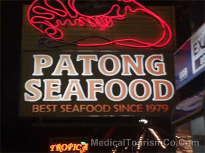 Popular Restaurant in Patong Area of Phuket - Thailand