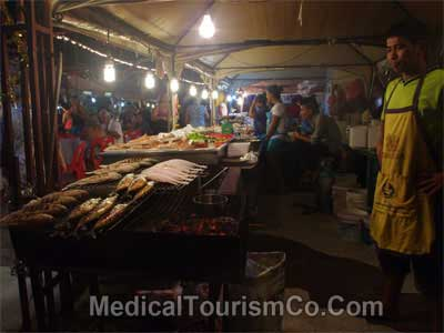 Foodstreet in Patong - Phuket Thailand