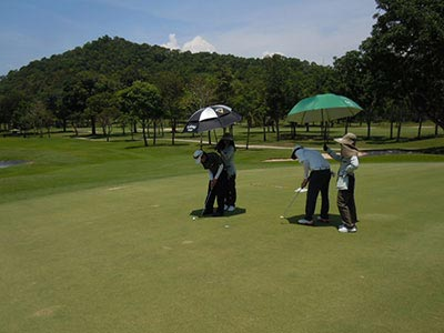 Golf Course in Pattaya-Thailand