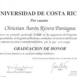 Dr. Christian Rivera Credential - 1