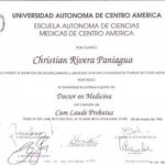Dr. Christian Rivera Credential - 3