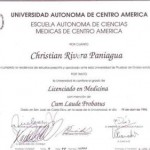 Dr. Christian Rivera Credential - 4
