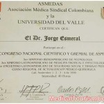 Dr. Esmeral Certificate - 15