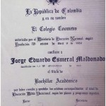 Dr. Esmeral Certificate - 16