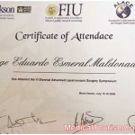 Dr. Esmeral Certificate 5