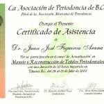 Periodontal Certificate - Mexico