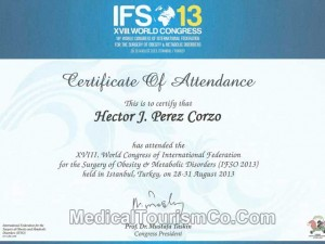 IFSO World Congress – Dr. Hector Perez