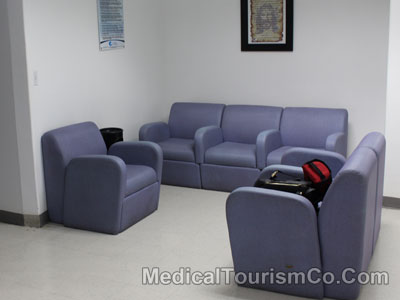 Sitting Area at Florence Health System - Tijuana - Mexico