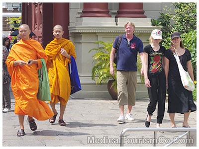 Tourists at Grand Palace - Bangkok