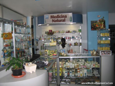 Pharmacy at Clinica Biblica