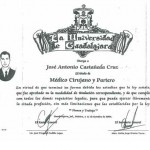 Dr. Jose Antonio Degree