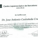 Laproscopic Surgery Certificate - Barcelona