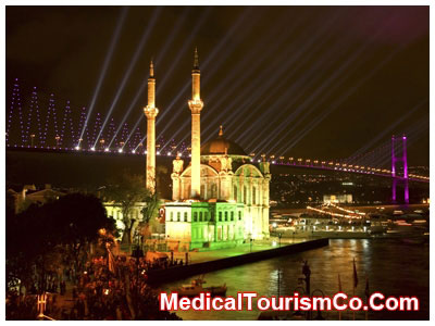 Ortakoy Mosque and Bosphorus Bridge - Istanbul-turkey