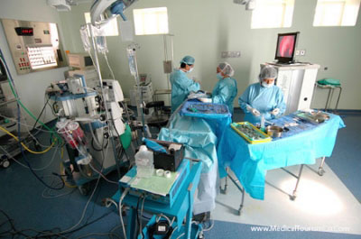 Operation Theater at the Hospital