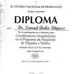 Urologist in Mexico - Diploma