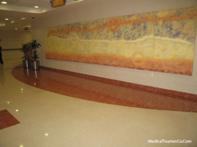 Waiting Area at Hospital Angeles
