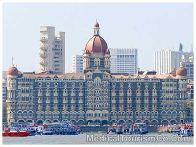 Taj Hotel in Mumbai - India