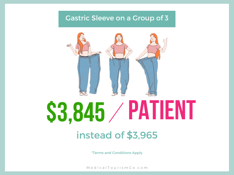 Gastric sleeve group offer