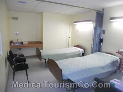 Modera Hospital Tijuana - Patient Room