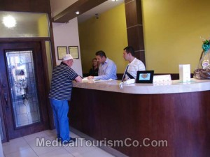 Reception Area - Dental Clinic in Los Algodones, Mexico