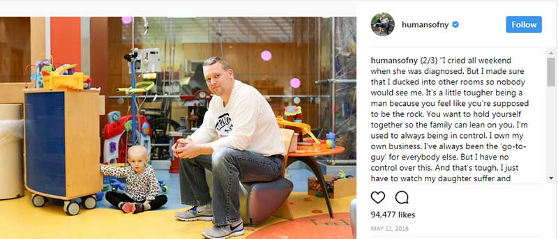 Crowdfunding Example - Humans of New York