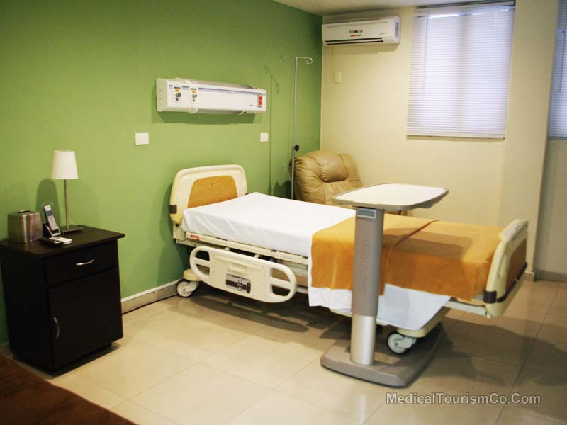 Patient Room - Hospital in Cancun - Mexico