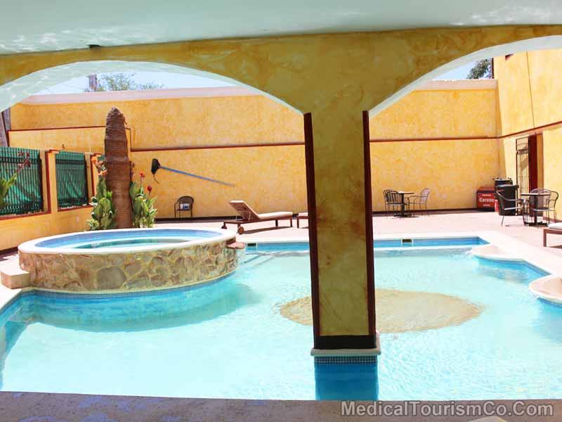 Pool At Hacienda Hotel - Los Algodones
