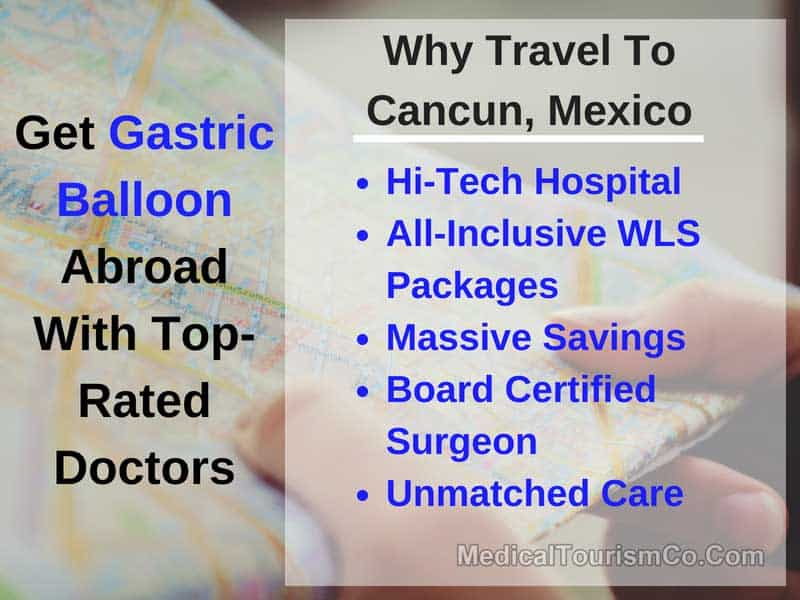 Reasons for Choosing Cancun Mexico for Gastric Balloon
