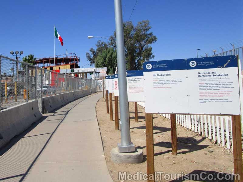 Border Crossing - Los Algodones - Mexico