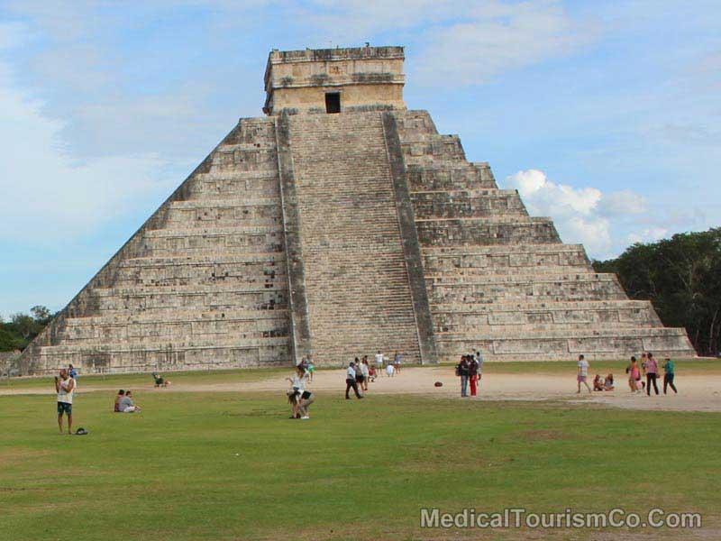 Chichen Itza Near Cancun