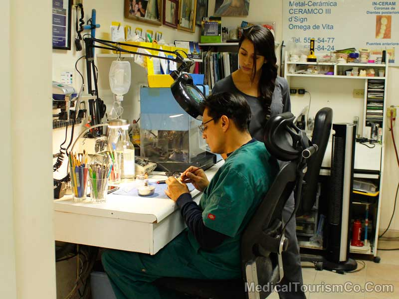 In-House Lab at Dental Clinic in Mexicali - Mexico