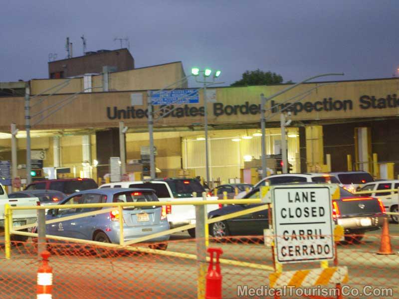 San Diego-Tijuana Border Crossing - Mexico