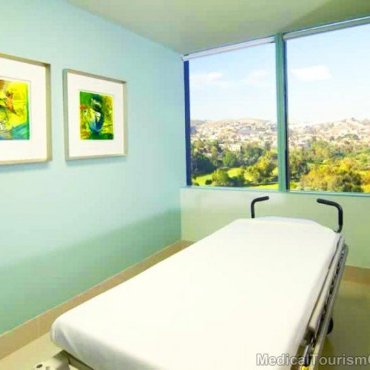 Twin Towers Hospital in Tijuana - Mexico Patient Room