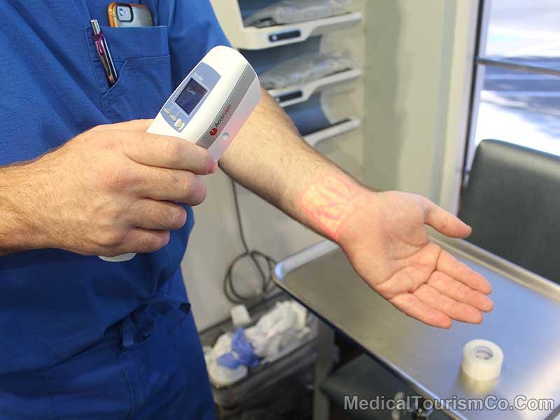 Vein Finder Machine - Bariatric Center in Vegas