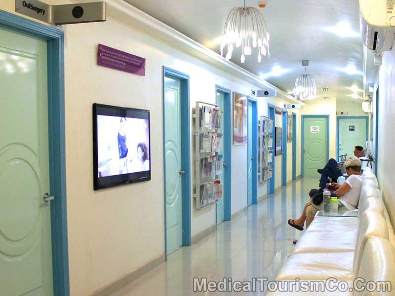 Waiting Area of Dental Clinic in Los Algodones - Mexico