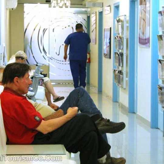 Sani Dental Los Algodones Waiting Area