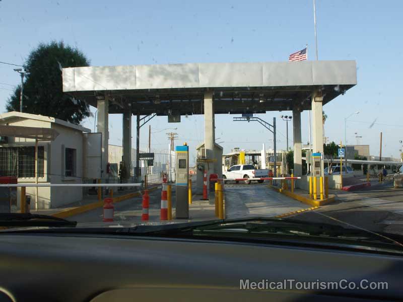Andrade Border Crossing - Los Algodones Mexico