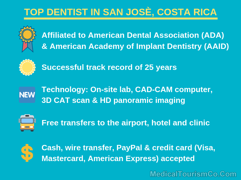 Top Dentist in San Jose Costa Rica