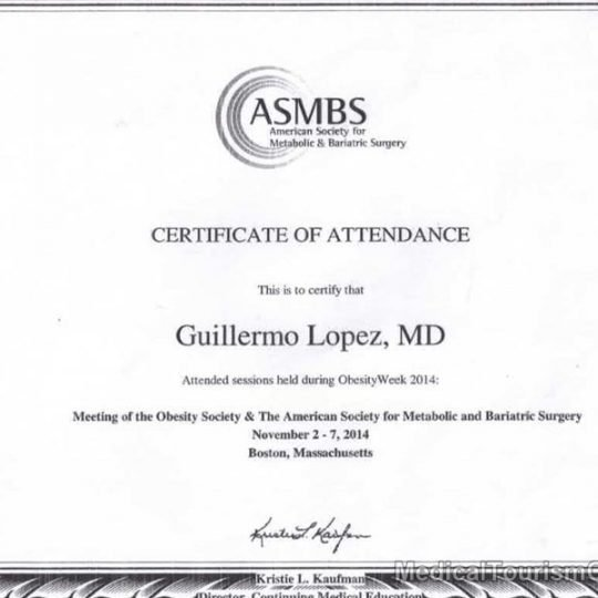 ASMBS Weight Loss Surgeon Dr. Guillermo Lopez