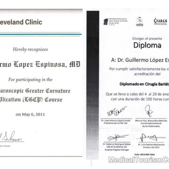 Cleveland Clinic & IFSO Dr. Lopez Bariatric Surgeon Tijuana