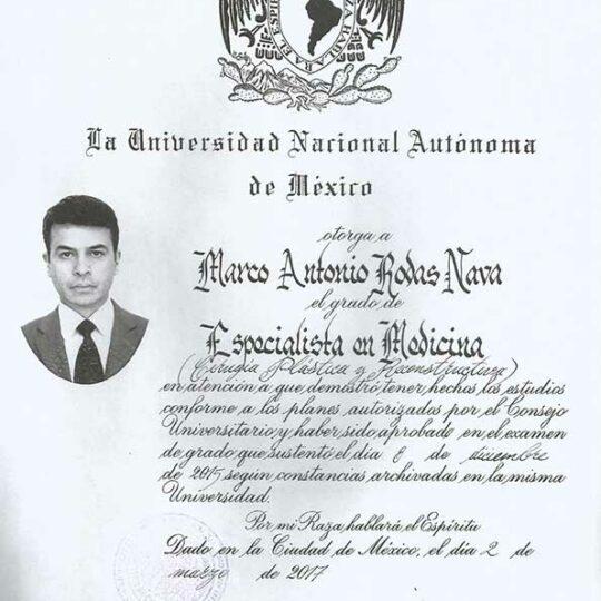 Dr. Marco Nava Antonio Plastic Surgeon Tijuana