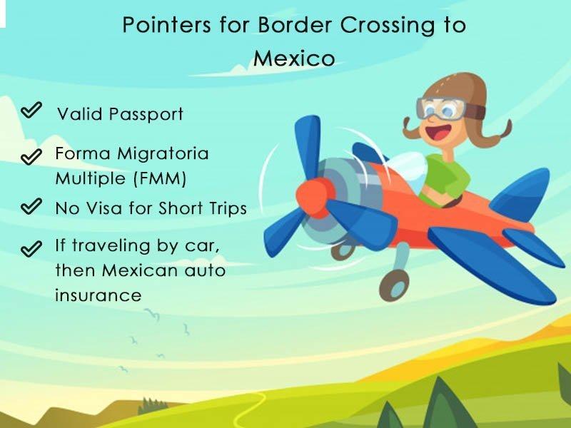 Border crossing to Mexico