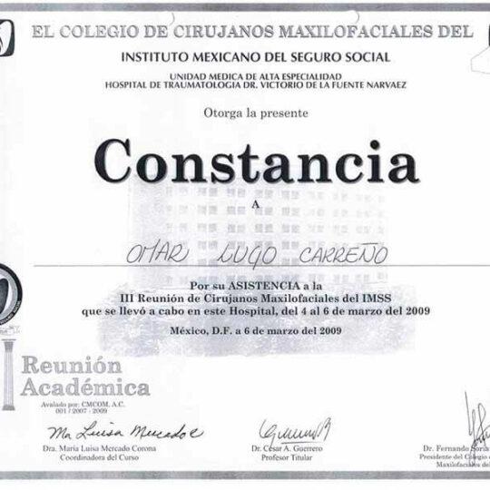 Dr. Omar Lugo credentials